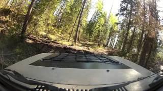 Softtrail Borås 2014 dash footage  - 4x4sweden.se