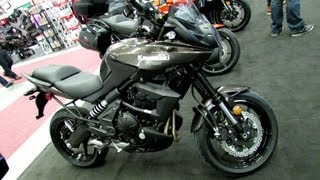 8. 2013 Kawasaki Versys 650  Walkaround - 2013 Montreal Motorcycle Show