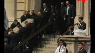 RARE FOOTAGE: Aaliyah's Funeral (2001) - YouTube
