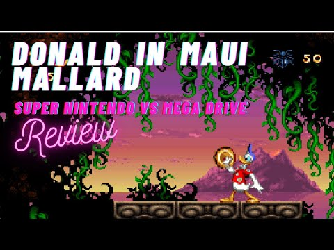 Donald in Maui Mallard Megadrive