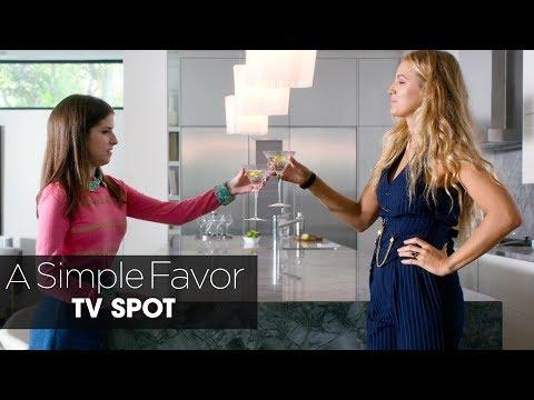 """Un pequeño favor - A Simple Favor  Official TV Spot """"Secret""""?>"""