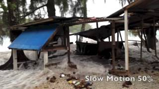 King tides overwhelmed the Marshall Islands on 3 March, causing over a thousand people to be evacuated from their homes in the capital of Majuro and neighbou...