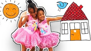 Video Funny Kids In Real Life | Naiah and Elli Toys Show download in MP3, 3GP, MP4, WEBM, AVI, FLV January 2017