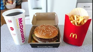 The FASTEST Grand Mac Meal Ever Eaten (under 1 Minute!!) waptubes