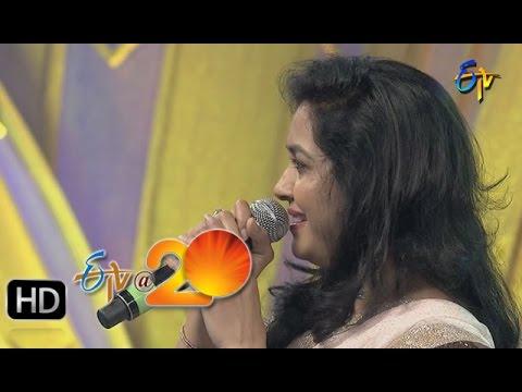 Sunitha-Krishna-Chaitanya-Performance--Egiripothe-Entha-Song-in-Gunturu-ETV-20-Celebrations