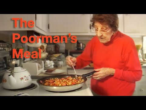 Great Depression Cooking - The Poorman's Meal - Higher Resolution