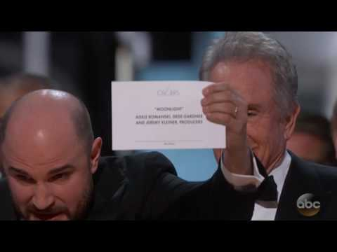 Oscars blunder: Wrong film announced for Best Picture