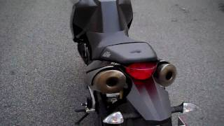6. 2008 KTM 990 Super Duke walk around & startup