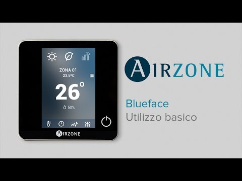 Termostato Blueface: utilizzo basico