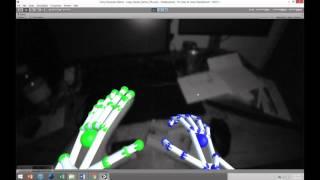 Leap Motion Orion VR Test