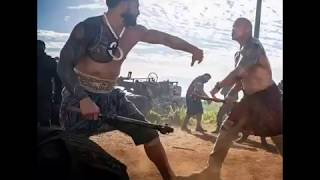 Roman reigns and Rock in fast and furious 9 Hobbs and Shaw #Hobbsandshaw #Romanreigns #Ro