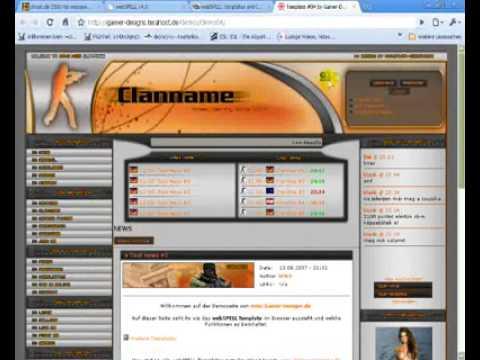 Homepage erstellen und Design Part 2/2