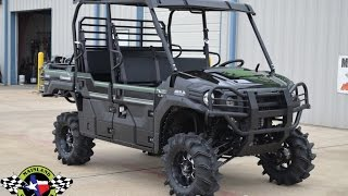10. $16,599:  2017 Kawasaki Mule Pro FXT EPS LE Black Lifted, Bumpers, Wheels and Tires