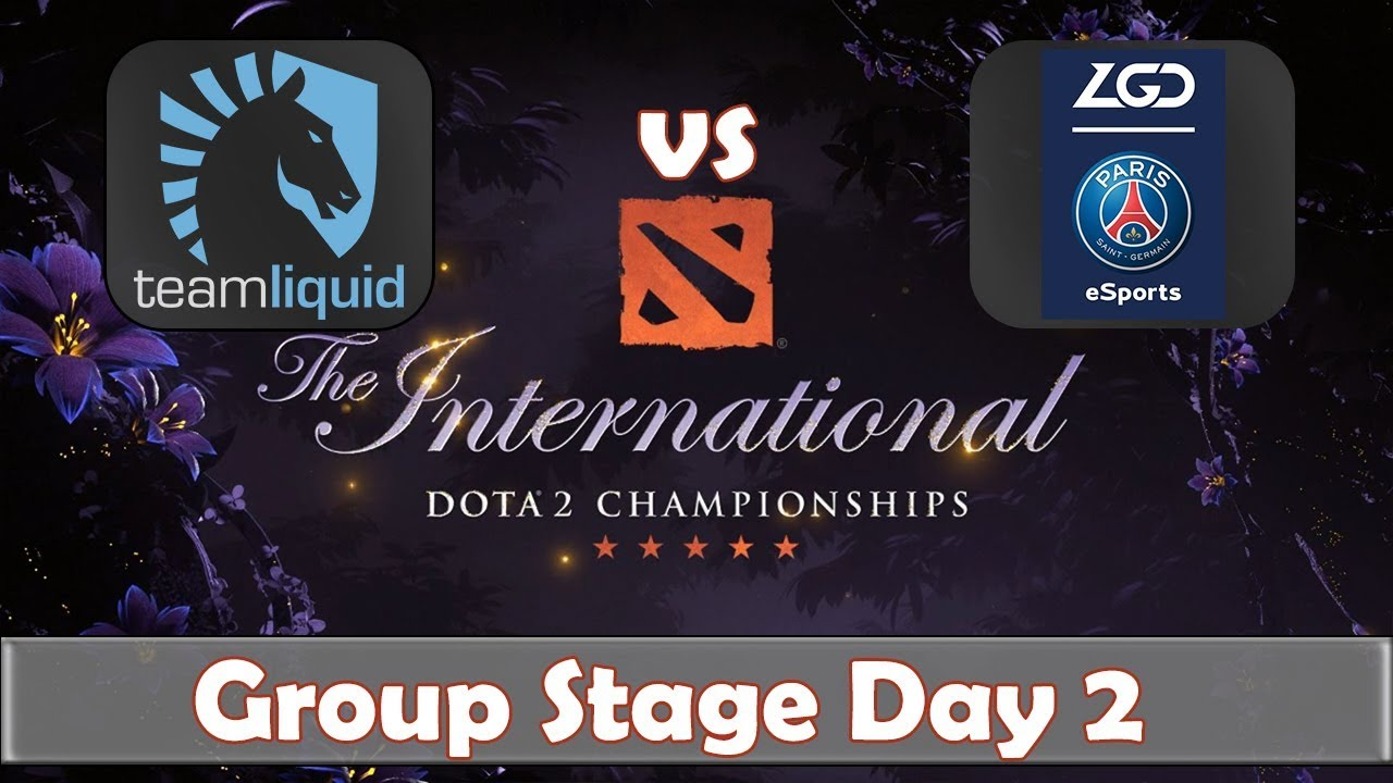 Liquid vs PSG.LGD | The International 2019 | Dota 2 TI9 LIVE | Group Stage Day 2 - YouTube