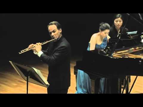 J. Mouquet: La flute de Pan. I. Pan et les bergers (Mathieu Dufour, flute) (видео)