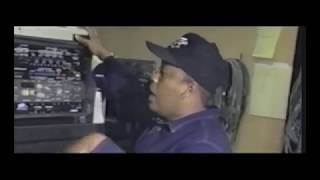Dr. Dre in the 90s playing beats and talks NWA, Eazy E & Ice Cube