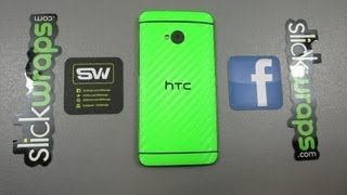 SlickWraps for the HTC One (Unboxing and Installation)