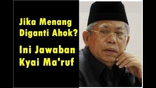 Video Diperalat Jokowi dan Akan Diganti Ahok? Begini Jawaban Ma'ruf Amin MP3, 3GP, MP4, WEBM, AVI, FLV Desember 2018