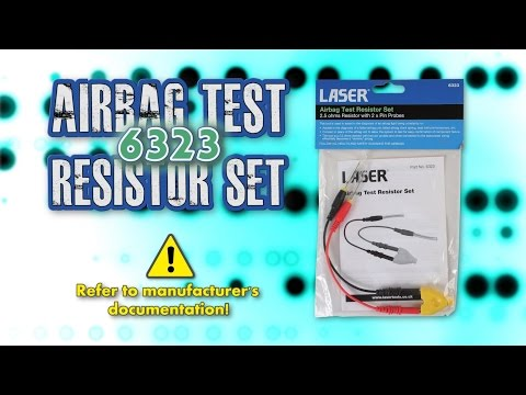 Air Bag Test Resister Set