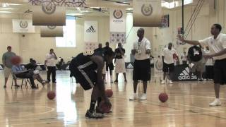 Aaric Murray - Around the Key Dunking Drills