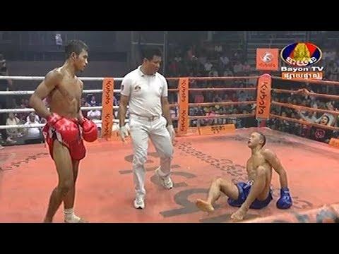 Long Chin vs Kroh Phetch(thai), Khmer Boxing Bayon 23 Feb 2018, Kun Khmer vs Muay Thai