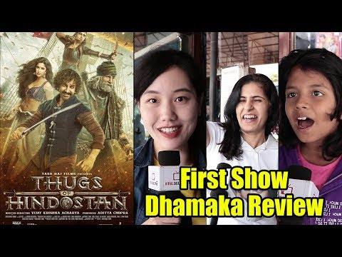 Thugs Of Hindostan FIRST REVIEW | DHAMAAKA 🔥🔥🔥 Review By Aamir Khan Fans