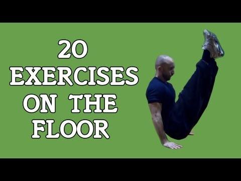 【体幹側面の強化に!】20種類の動的自重トレーニング集