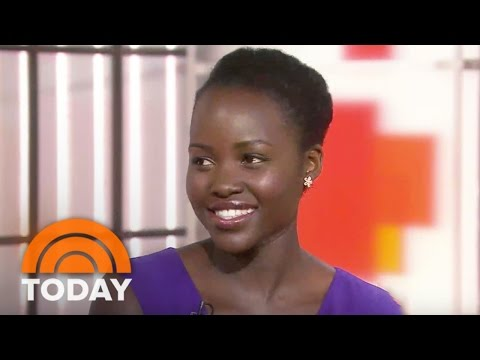 #Lupita on GMA Talks #OscarsSoWhite