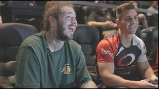 TEACHING POST MALONE HOW TO PLAY CALL OF DUTY!