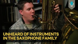 Video Unheard of Instruments in the Saxophone Family MP3, 3GP, MP4, WEBM, AVI, FLV Desember 2018