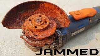 Video Rusty Jammed Angle Grinder Worst Restoration Ever MP3, 3GP, MP4, WEBM, AVI, FLV Juli 2019