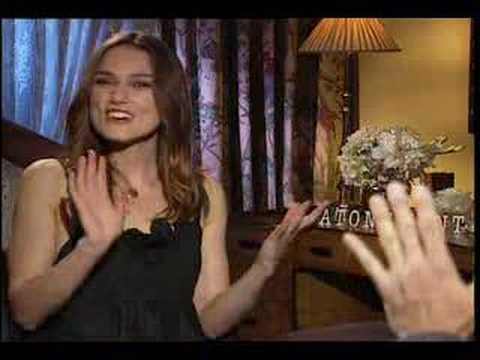 Keira Knightley interview for Atonement