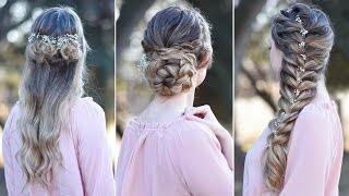 3 Prom Hairstyles | Updo | Cute Girls Hairstyles by Cute Girls Hairstyles