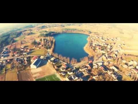Mściszewice z lotu ptaka - film promujący wieś