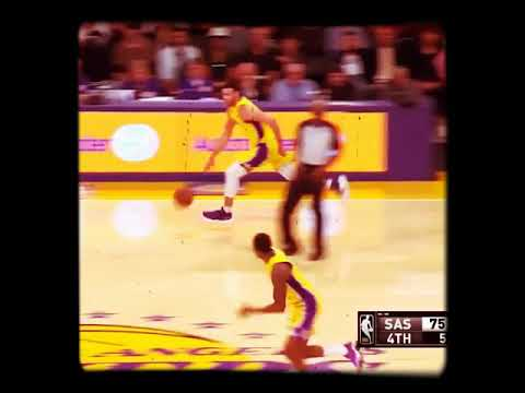 Larry Nance  Jumps Out The Gym For Lob | Lakers Spurs