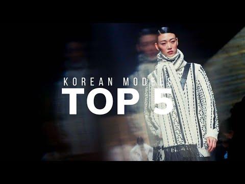 TOP 5 KOREAN MODELS   2020 видео