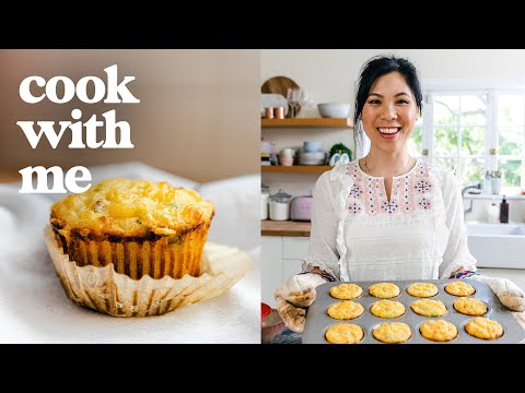 BREAKFAST MUFFINS - The Cheesy Kind | COOK WITH ME episode 15