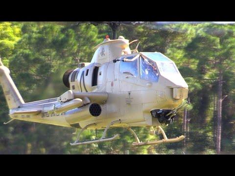 A Bell UH-1 Huey Gunship (Rolling...