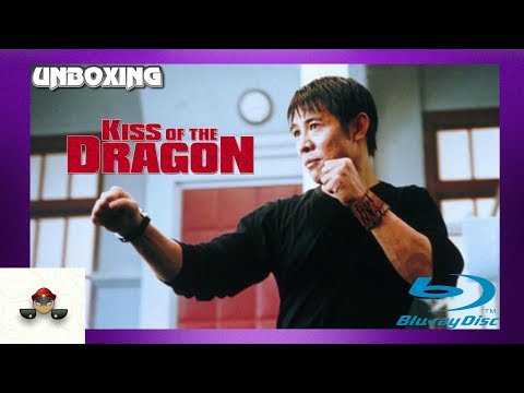 Kiss Of The Dragon Jet Li Blu Ray Unboxing