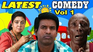 Video Latest Tamil Comedy Scenes 2017 | Tamil Comedy Collection | Vol 1 | Soori | Rajendran | Urvashi MP3, 3GP, MP4, WEBM, AVI, FLV Juni 2018