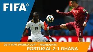 Video PORTUGAL v GHANA (2:1) - 2014 FIFA World Cup™ MP3, 3GP, MP4, WEBM, AVI, FLV Desember 2018