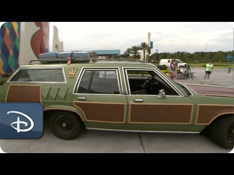 Real-life Griswold family travels to Disney World in Family Truckster