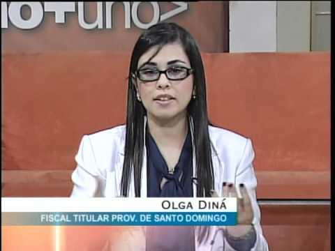 Entrevista a Olga Diná Llaverías, fiscal de la provincia de Santo Domingo (InformativosTA)