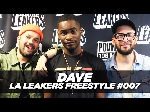 DAVE FREESTYLE WITH THE LA LEAKERS | #Freestyle007 @Power106LA @LALeakers @Santandave1