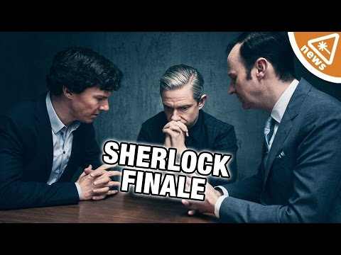 How the Sherlock Finale Upset the Internet! (Nerdist News w/ Kyle Hill) (видео)