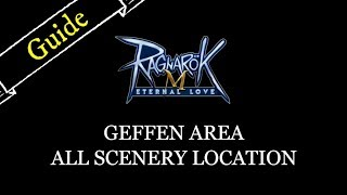 All Scenery Location - Geffen Area - Ragnarok M: Eternal Love