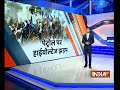 Satna: NSUI workers protest over petrol price hike, police fire water cannons to control protest - Video