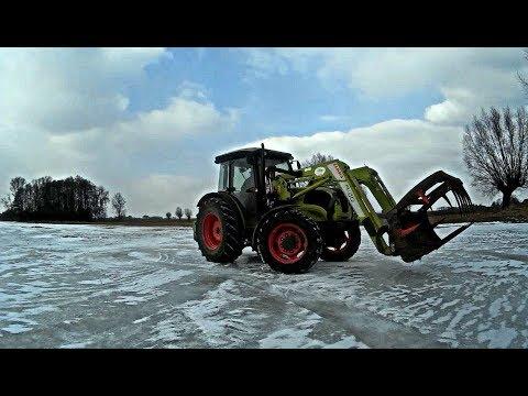 Drift Traktorem !! LATANIE BOKIEM | CLAAS ELIOS 220 ㋡