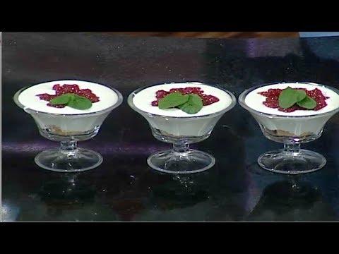 العرب اليوم - شاهد: طريقة إعداد أكواب التشيز كيك لمرضي السكر