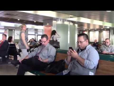 Бездействие полиции в конфликтной ситуации на пароме (видео)